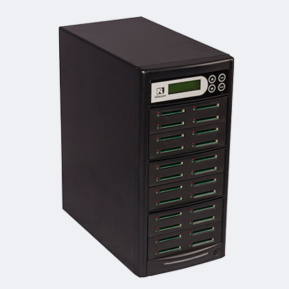 CompactFlash duplicator - u-reach cf824t quickly copy cf memory cards without computer