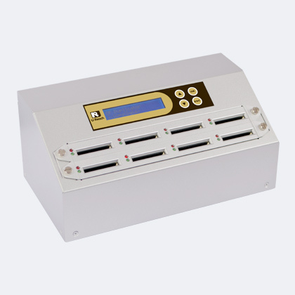 U-Reach i9 Gold duplicator - u-reach cfa908g intelligent 9 gold cfast duplicatie eraser systeem