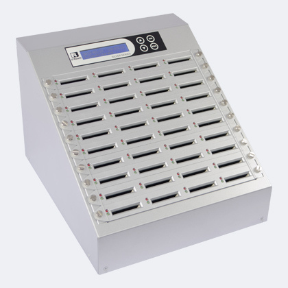 Intelligent 9 CFast Silver - grote capaciteit cfast memorycard duplicator snel productie systeem