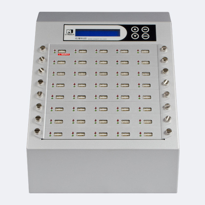 Ureach USB Silver - ureach ub940s intelligent 9 professional usb pen drive duplicator