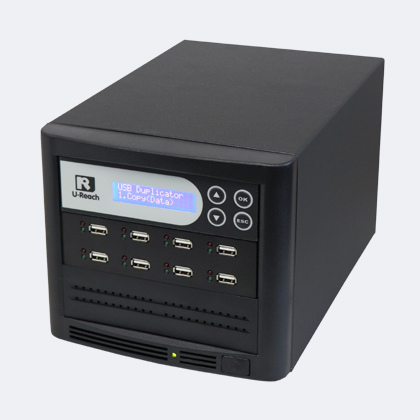 Tower USB duplicator 1-7 - usb stick duplicators zelf usb sticks kopieren ub808bt duplicator