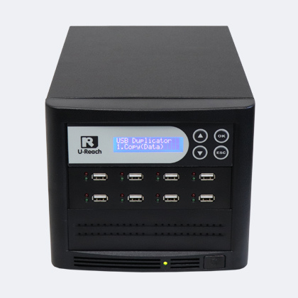 Ureach USB tower 1-7 - usb stick duplicators zelf usb sticks kopieren ub808bt duplicator