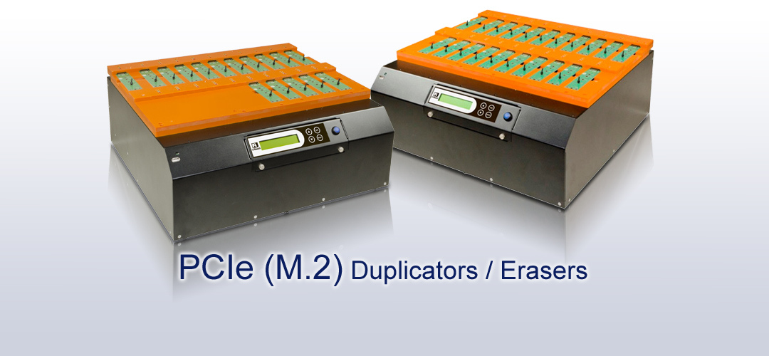 U-Reach PCI Express Duplicators en Erasers